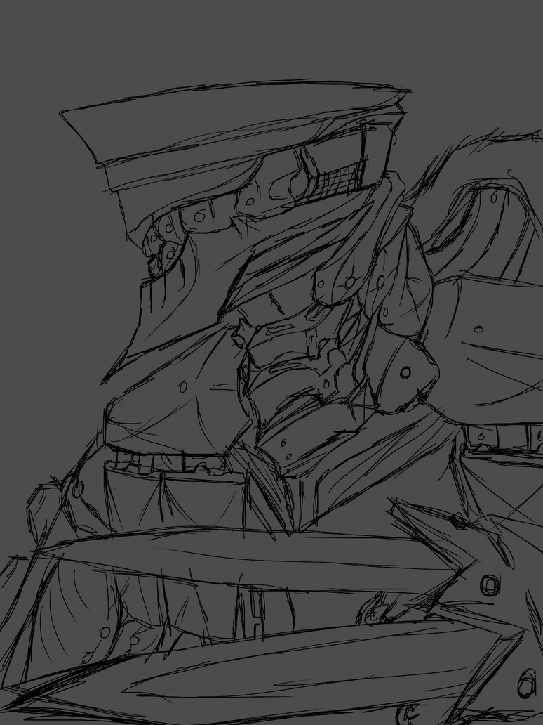 Mechdoodle thing by bloodtrailkiller