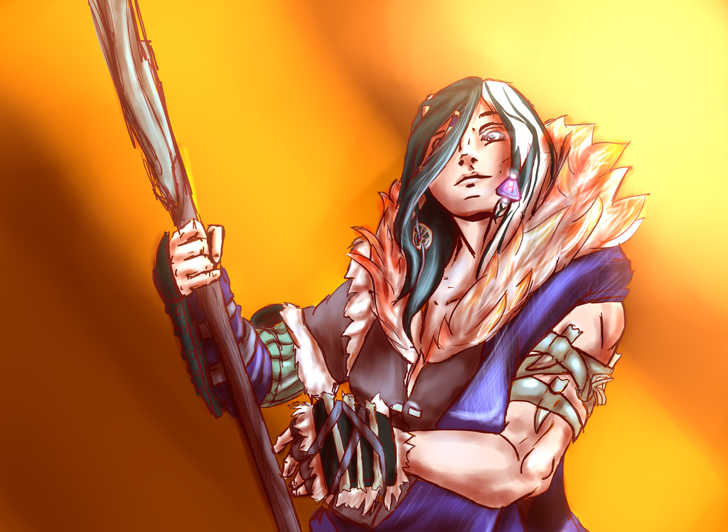 Barbarian Doodle by bloodtrailkiller