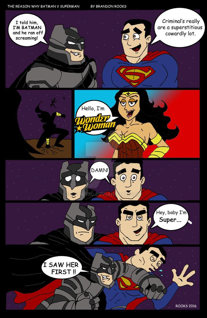 The Reason Why Batman V Superman by Rooks50