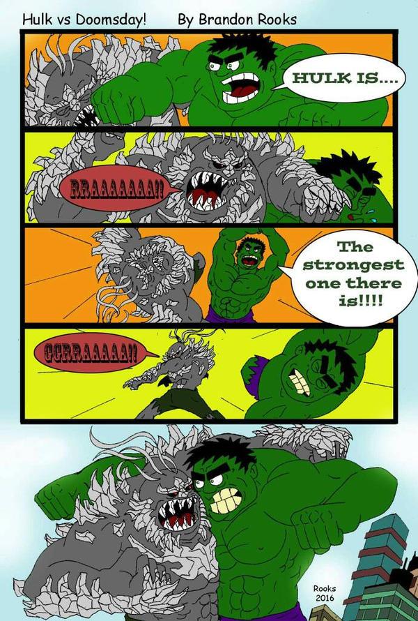 hulk vs doomsday part 1 by Rooks50