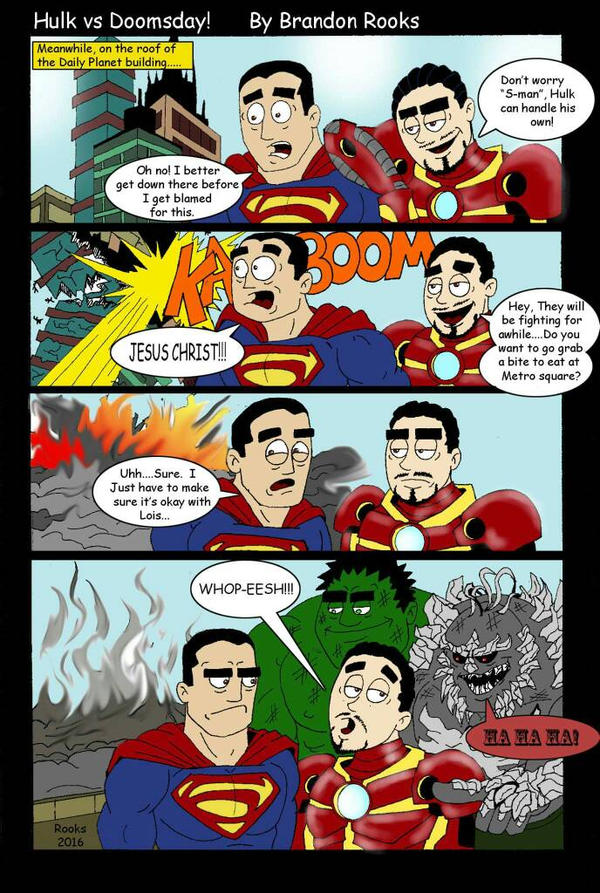 hulk vs doomsday part 2 by Rooks50