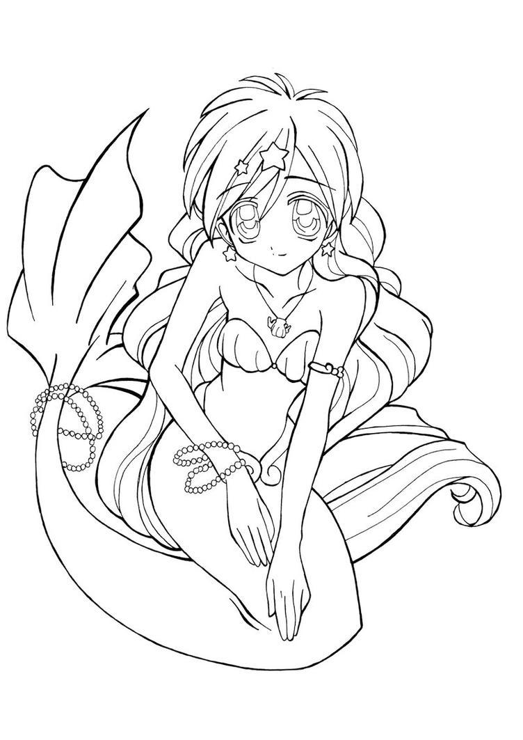 Mermaid Hanon Houshou by Kiene