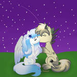 A goodnight kiss