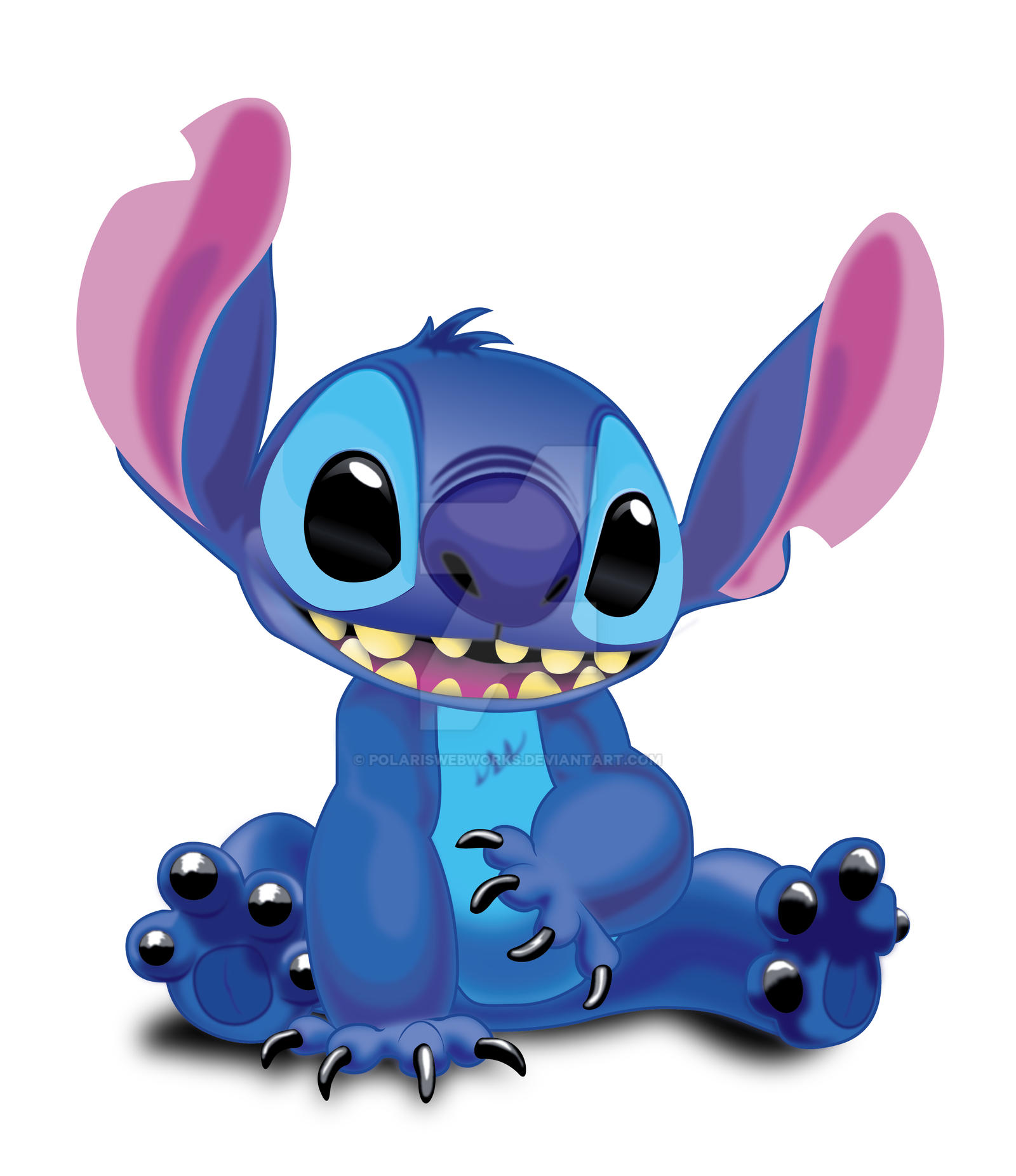 Disney'sStitch Vector by polariswebworks on DeviantArt