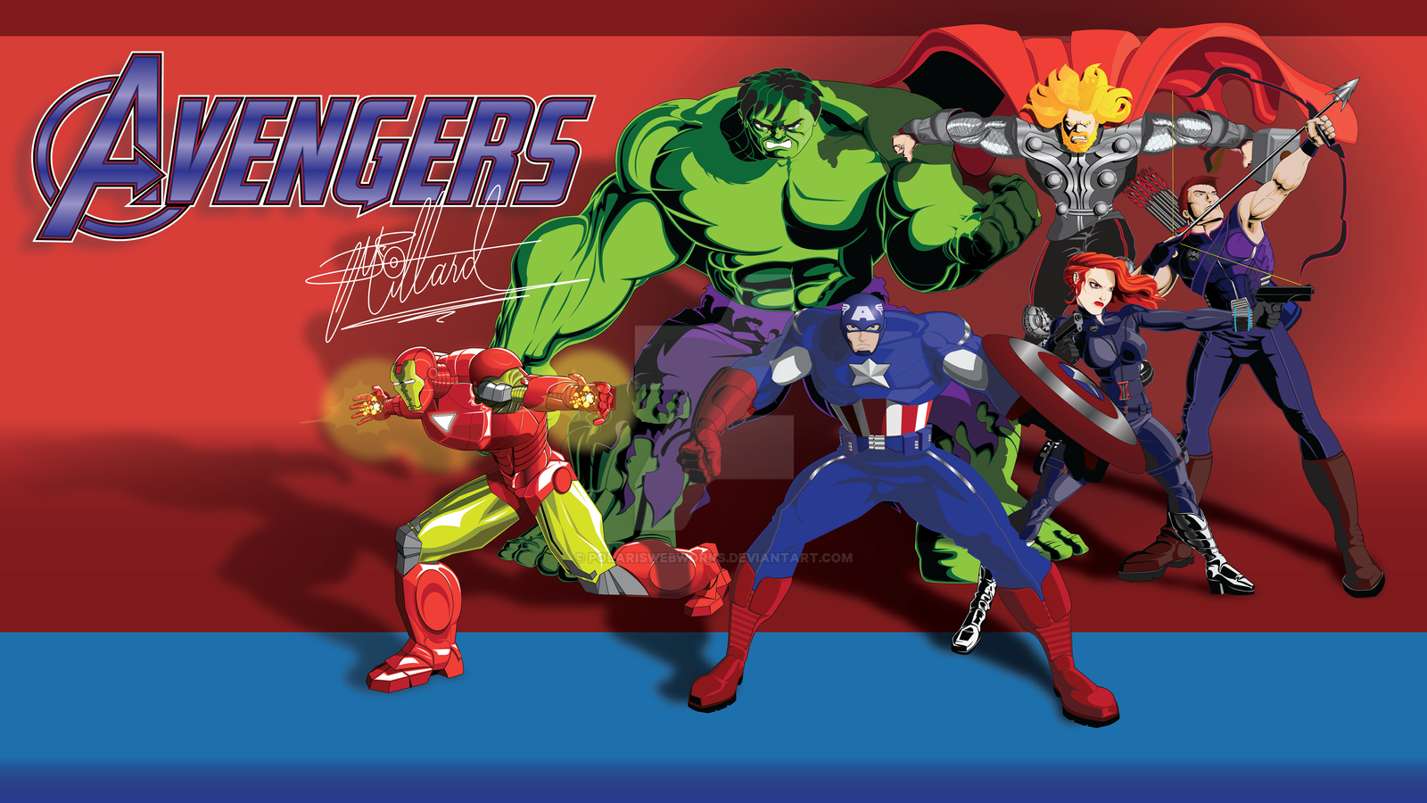 TheAvengers 2012 Vector by polariswebworks