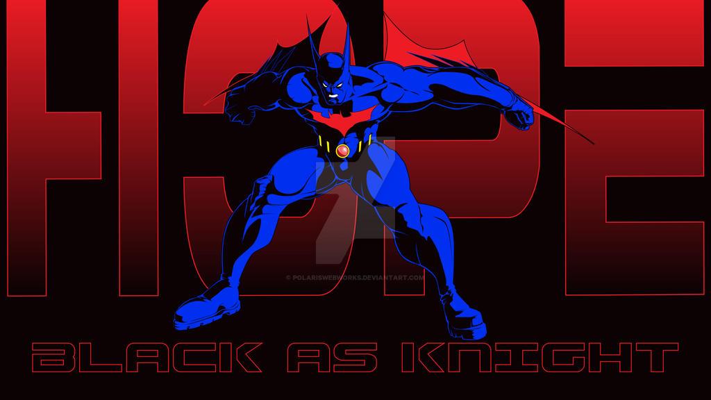 BatmanBeyond HopeIsBlackAsKnight Vector-01 by polariswebworks