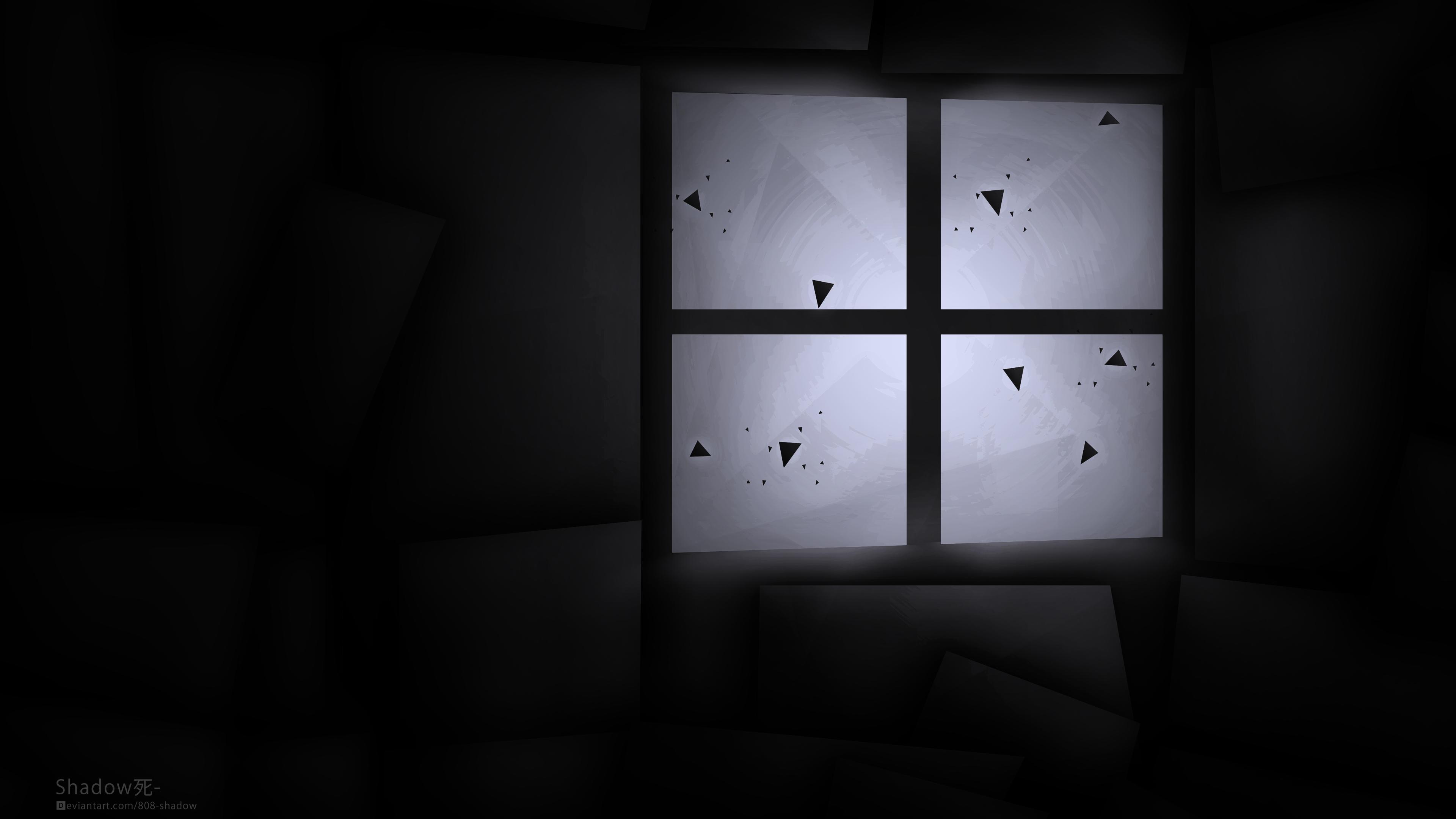 Original Windows Wallpaper Dark By 808 Shadow On Deviantart