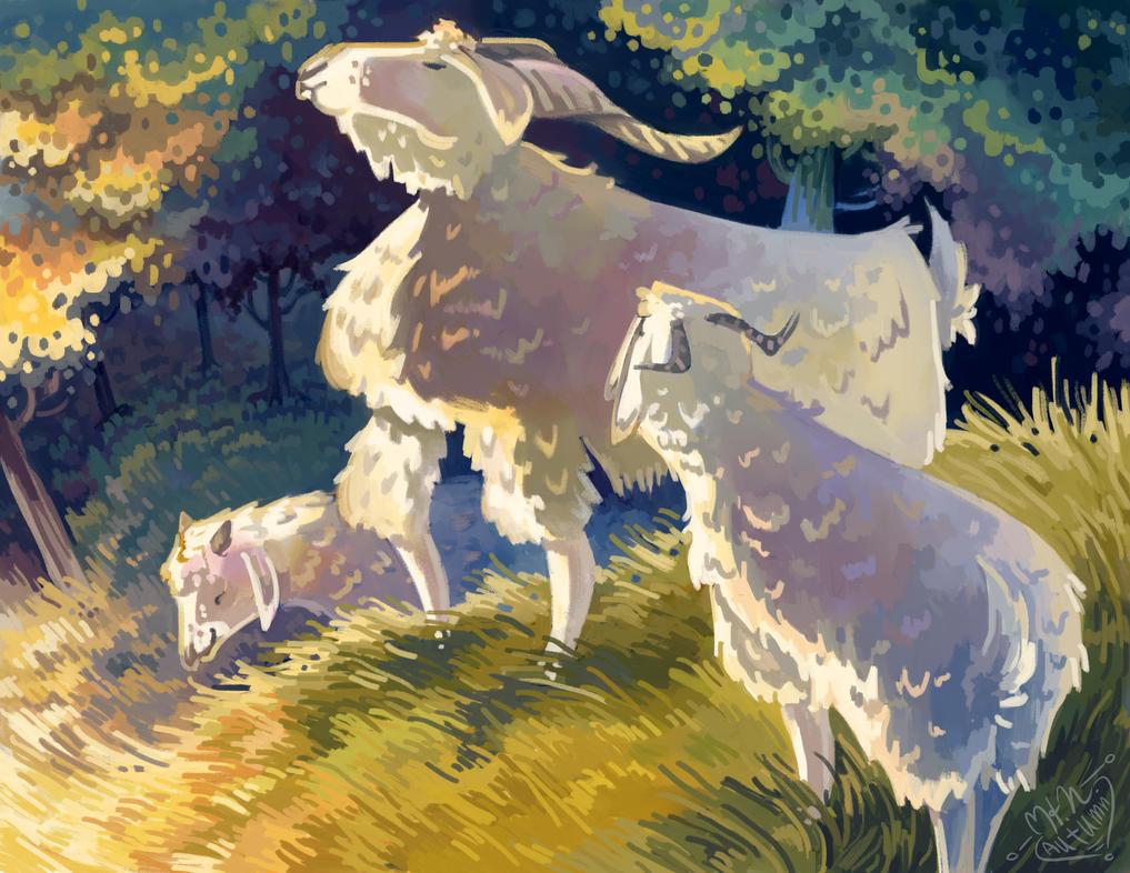 Goats by HNAutumn