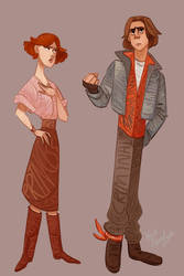 Claire and John