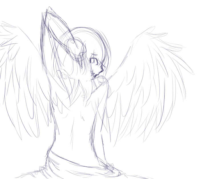 Wings Redo Wip by Riivens