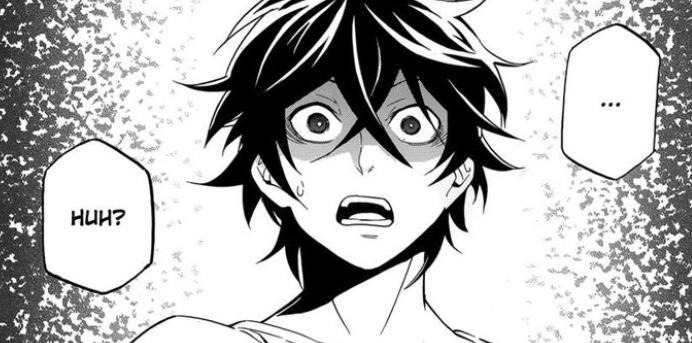Naofumi hears Myne's lie by mangasizzors