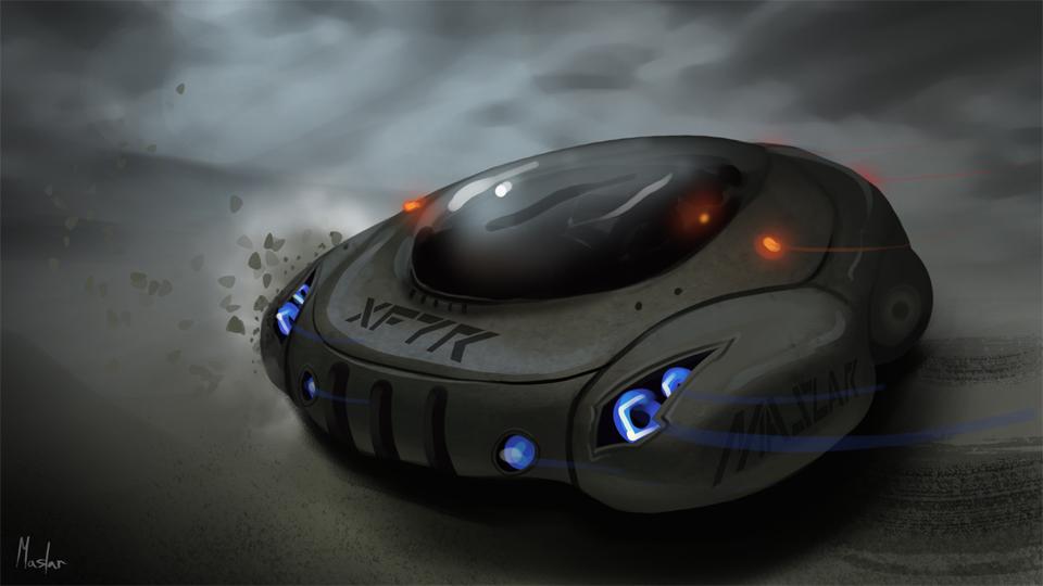 StudioMaslar Concept Vehicle XF7R 960