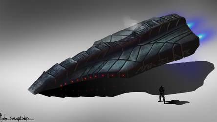 StudioMaslar Concept Ship 960