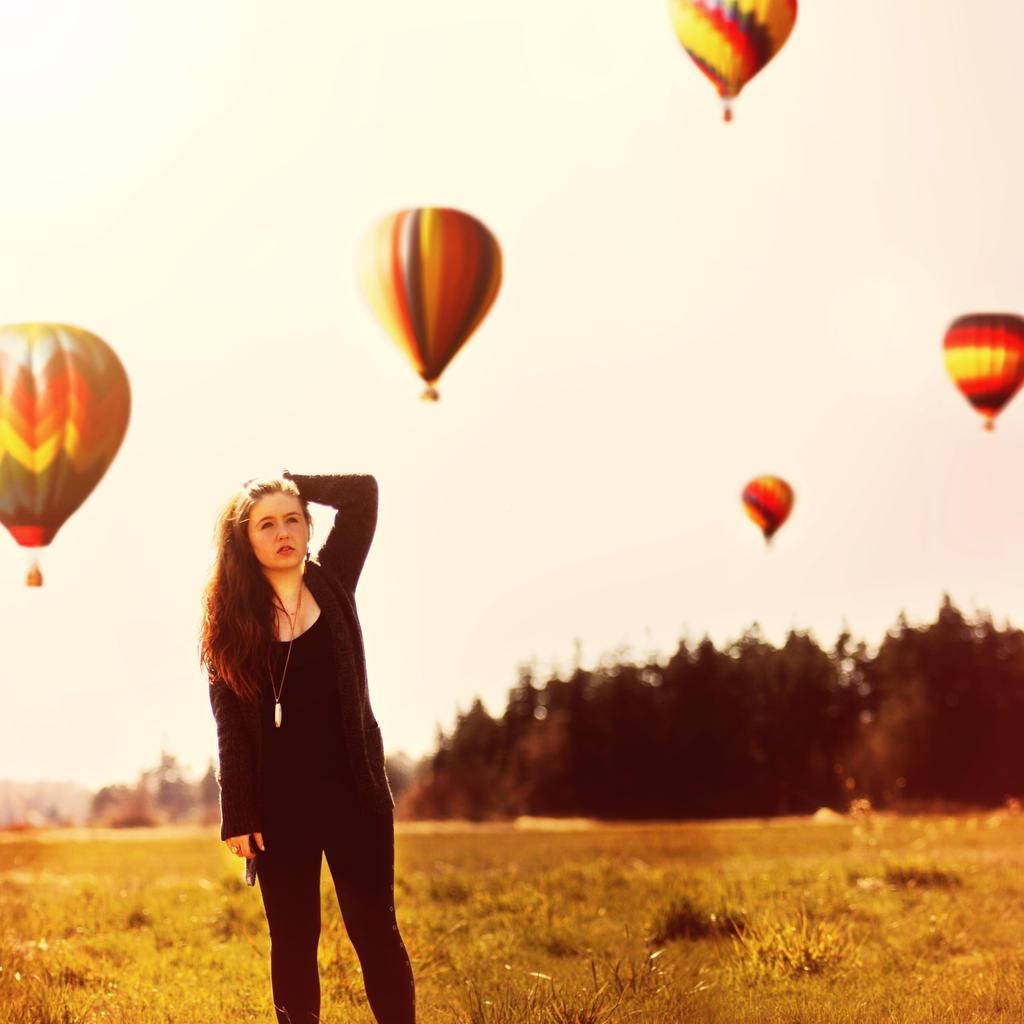 Hot Air Balloon by KeiranFoster