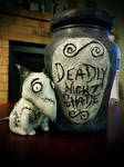 Nightmare Before Christmas- Deadly Night Shade Jar