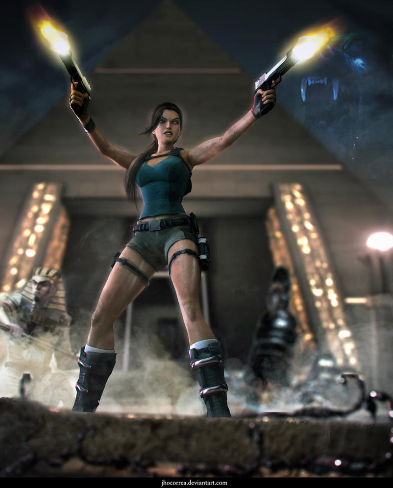 3d Tomb Raider Wallpaper: POWERSLAVE By JhoCorrea On DeviantArt