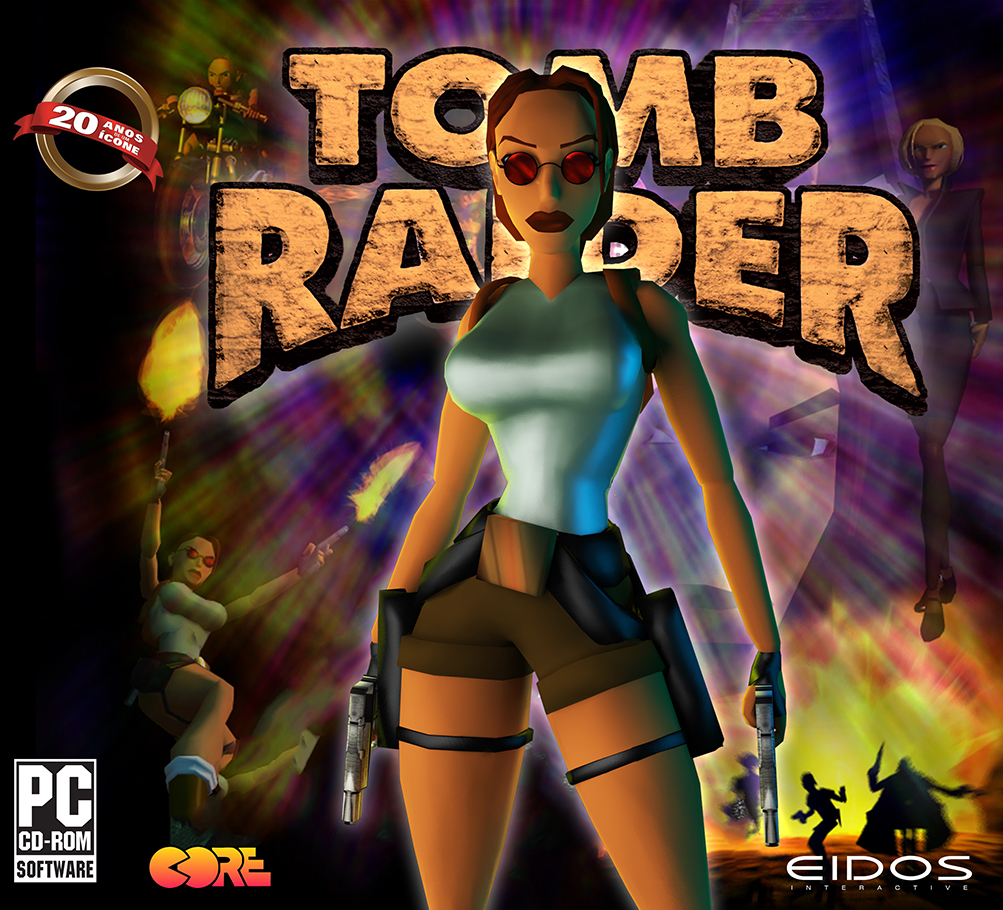 Tomb Raider 1 Game Cover By Jhocorrea On Deviantart