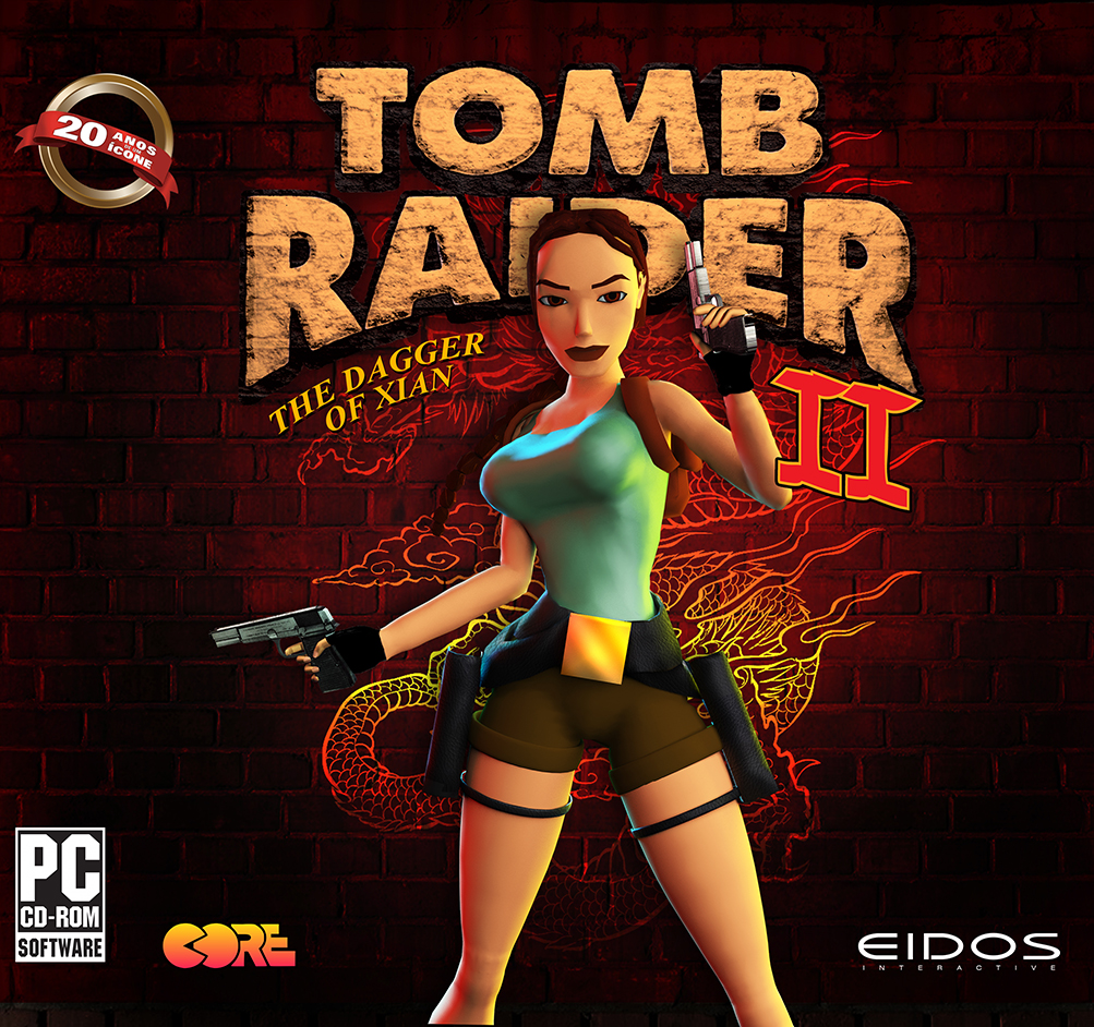 Tomb Raider 2 Game Cover By Jhocorrea On Deviantart
