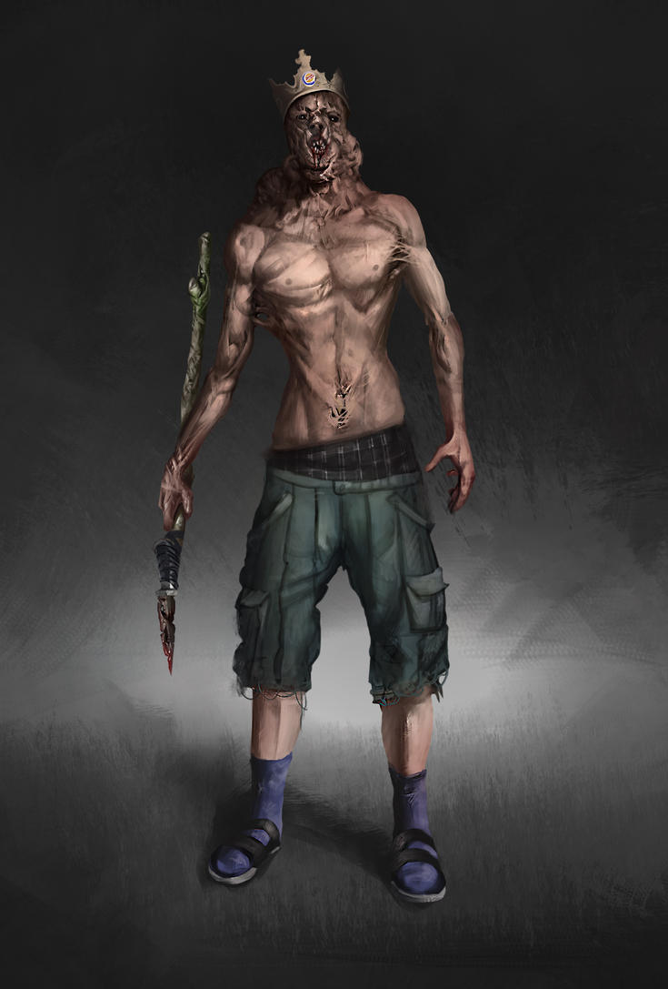 Zombie king by VitoRafiie