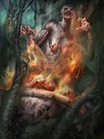 Forest Witch by VitoRafiie