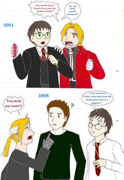 EDO vs HARRY vs EDWARD english