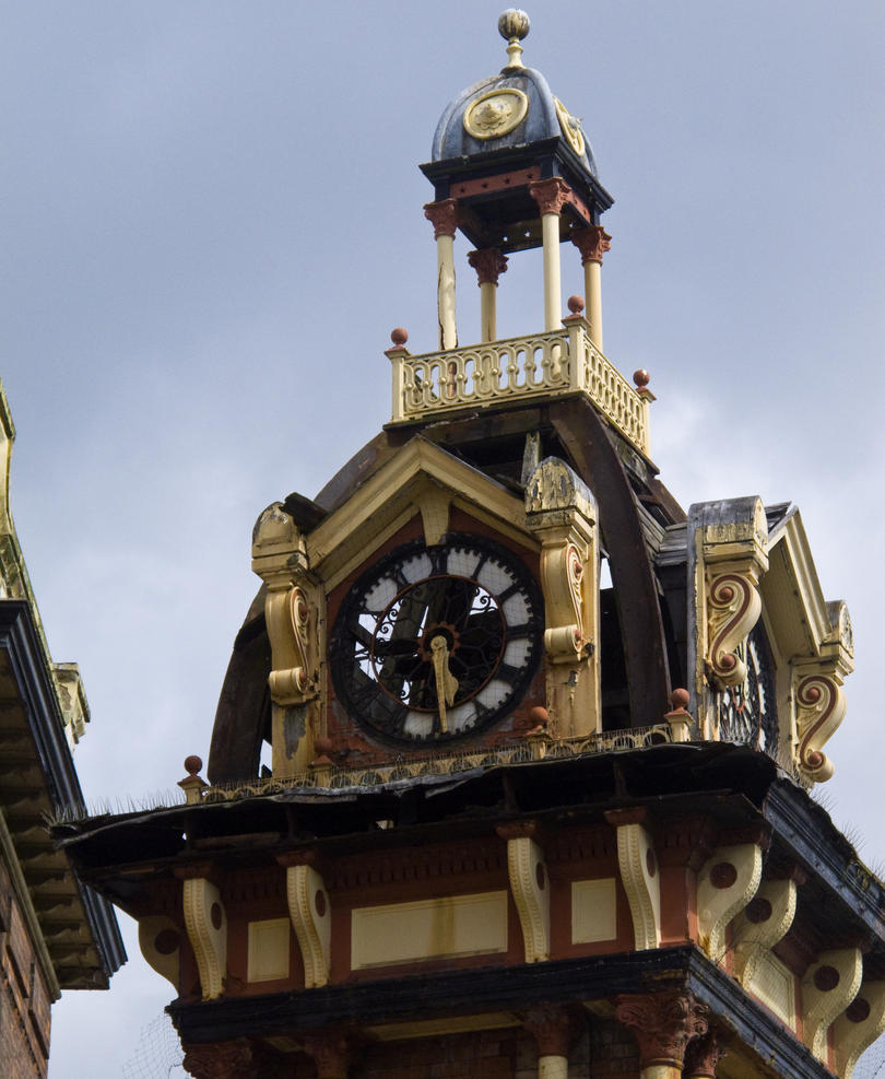 Plymouth Grove clock tower 2 by Spinneyhead