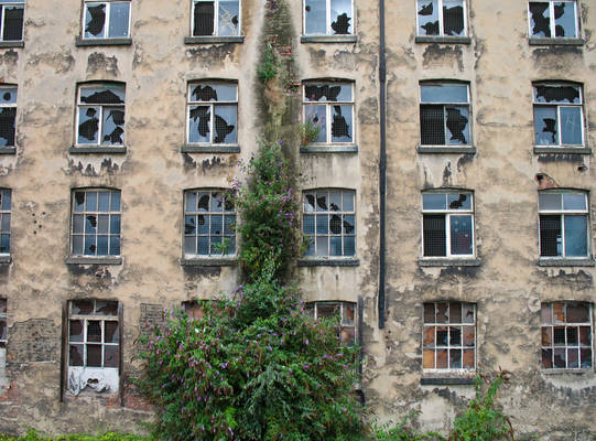 Derelict building somewhere in Manchester