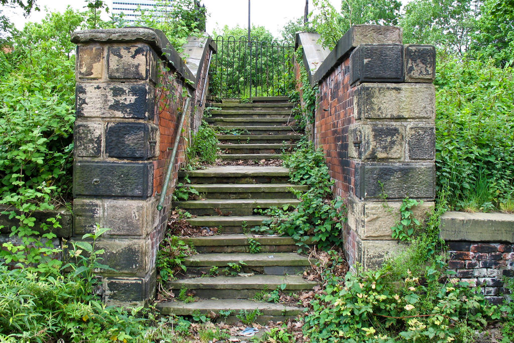 Steps to Nowhere by Spinneyhead