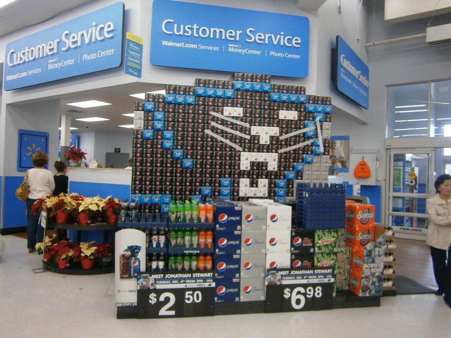 Pepsi Display in Walmart again by Maddster74