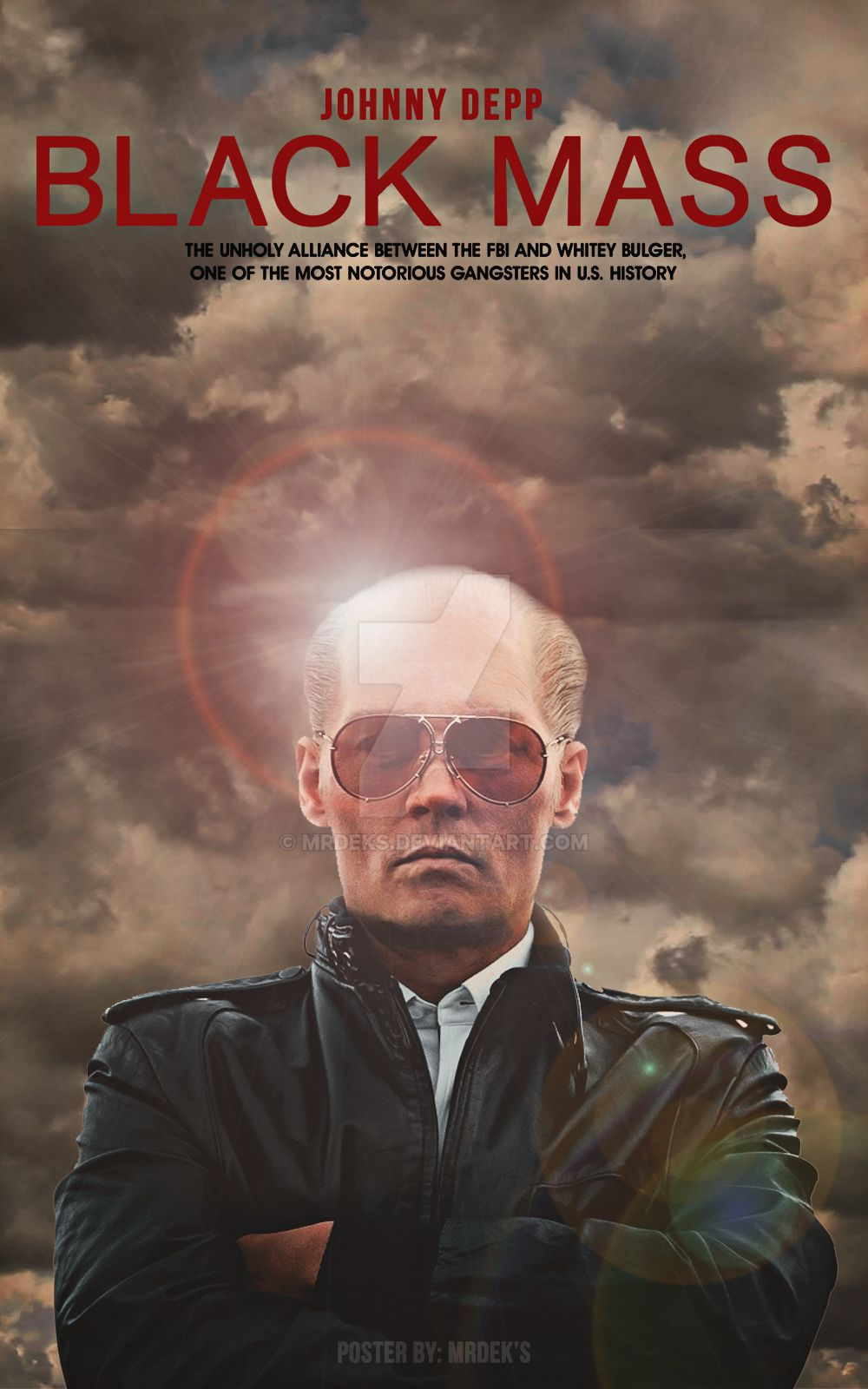 Black Mass - Poster (2015) by MrDeks on DeviantArt