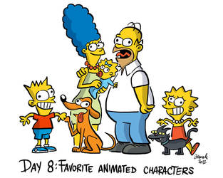 Day 8 - Favorite Animated Character by Juanele