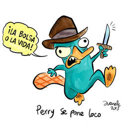 Perry goes crazy