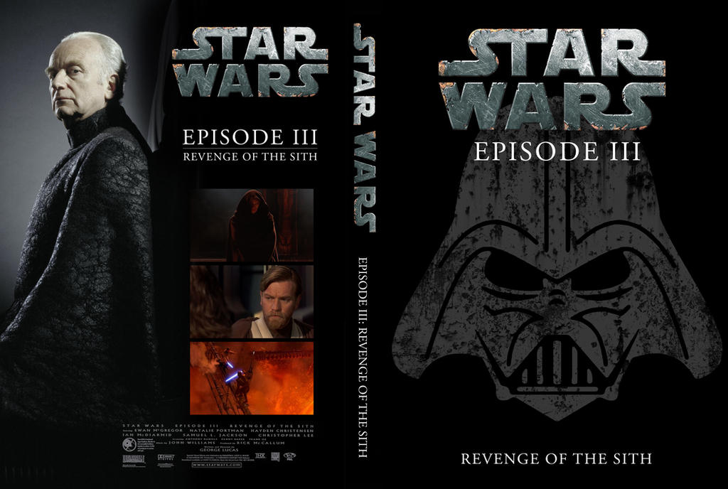 Star Wars Revenge Of The Sith Dvd Cover By Uebelator On Deviantart