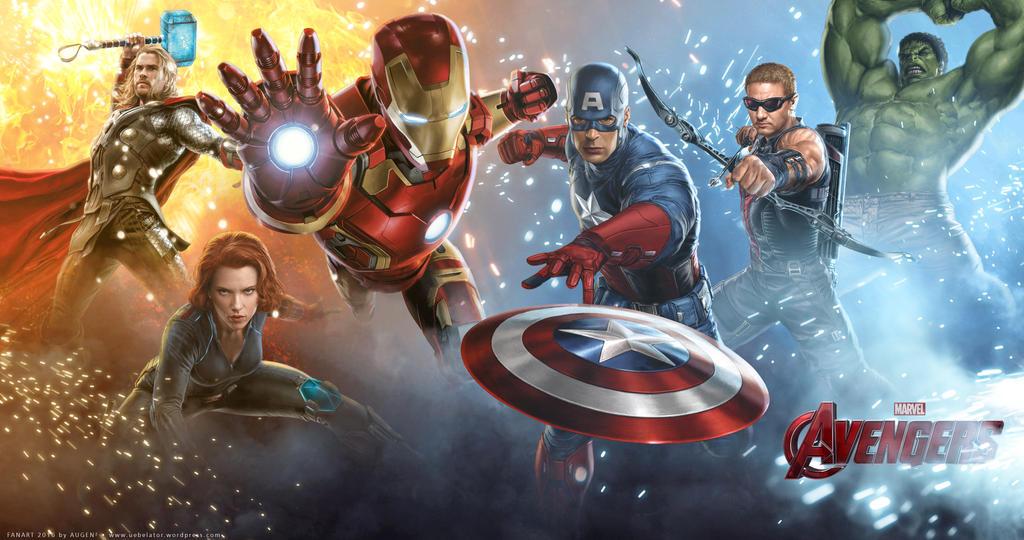 Fanart Marvel Avengers Wallpaper 4K by Uebelator on DeviantArt