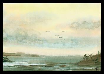 The Coastal Shallows by PellucidMind