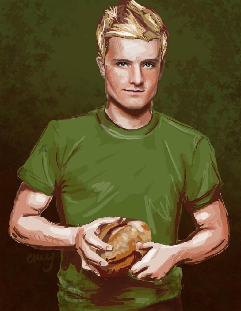 Hunger Games Peeta Drawing Who doesn't...