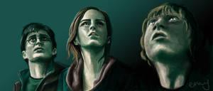 Deathly Hallows Trio FTW