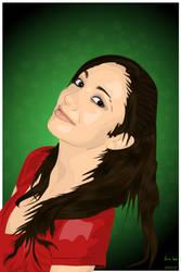 Girl Portrait by brokenbro