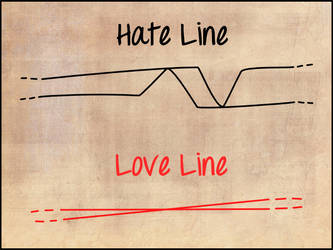 Love and Hate Line by brokenbro