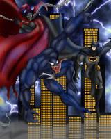 Spawn and Batman Vs Venom by Jazon19