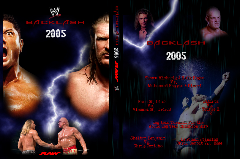 Backlash 2005 Dvd Cover By Jazon19 On Deviantart