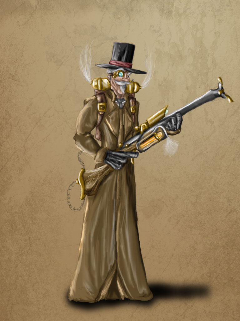 Steampunk chap for Casey