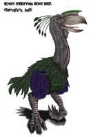 Coloured Terror Bird by Jazon19