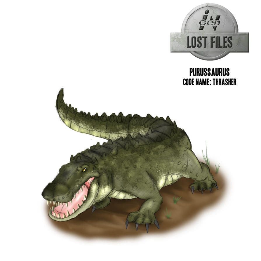 InGen Lost Files Thrasher by Jazon19