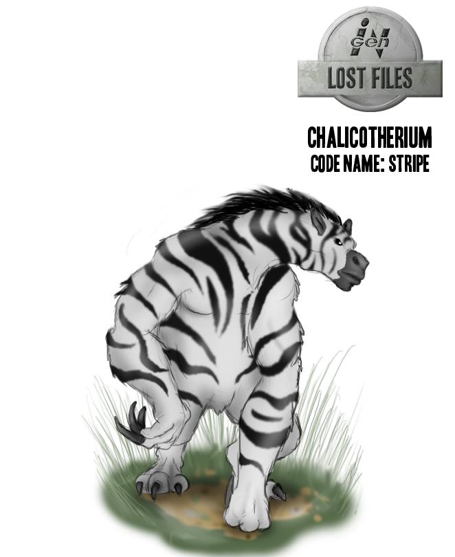 InGen Lost Files Stripe by Jazon19