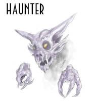 Haunter sketch by Jazon19