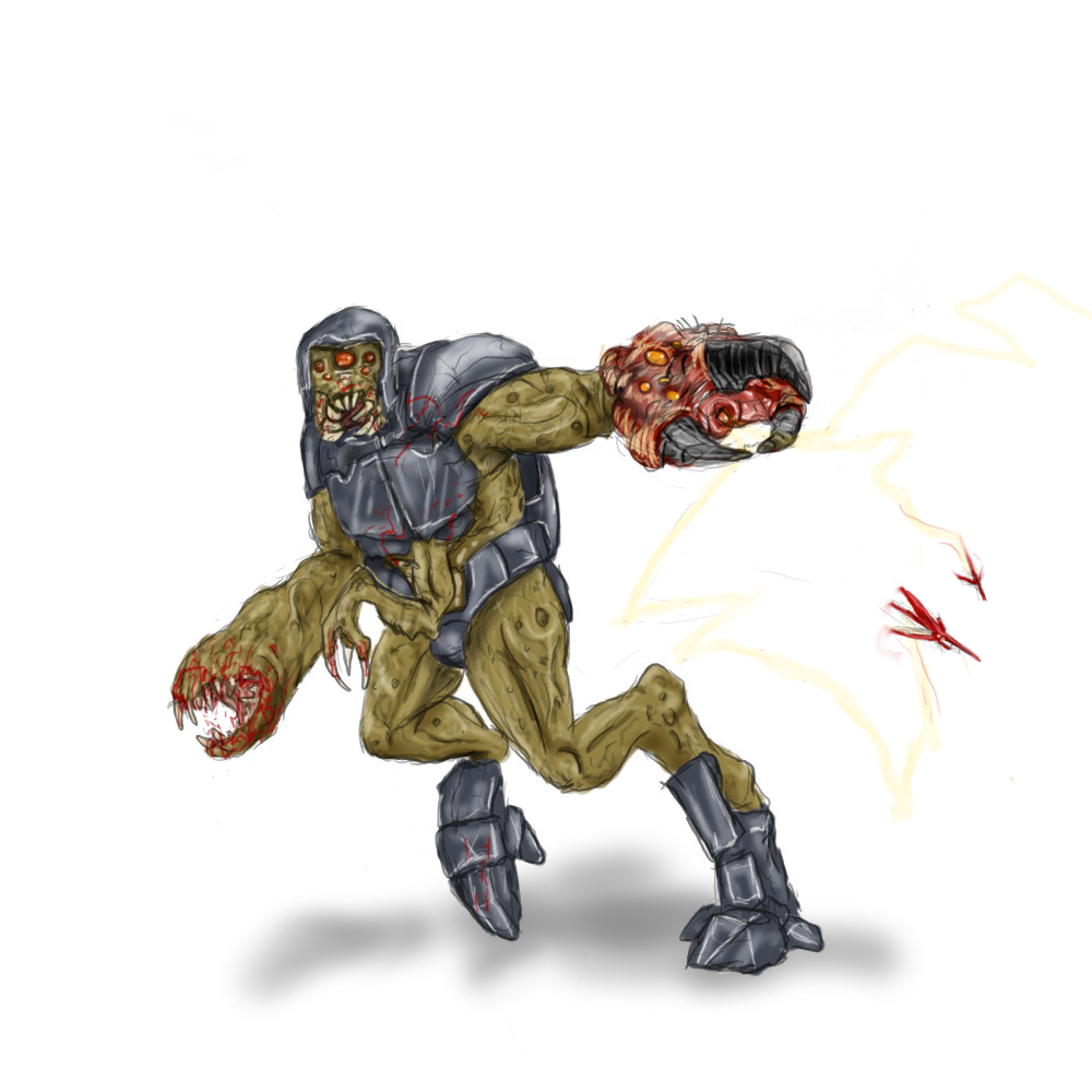 Alien Grunt by Jazon19 on DeviantArt