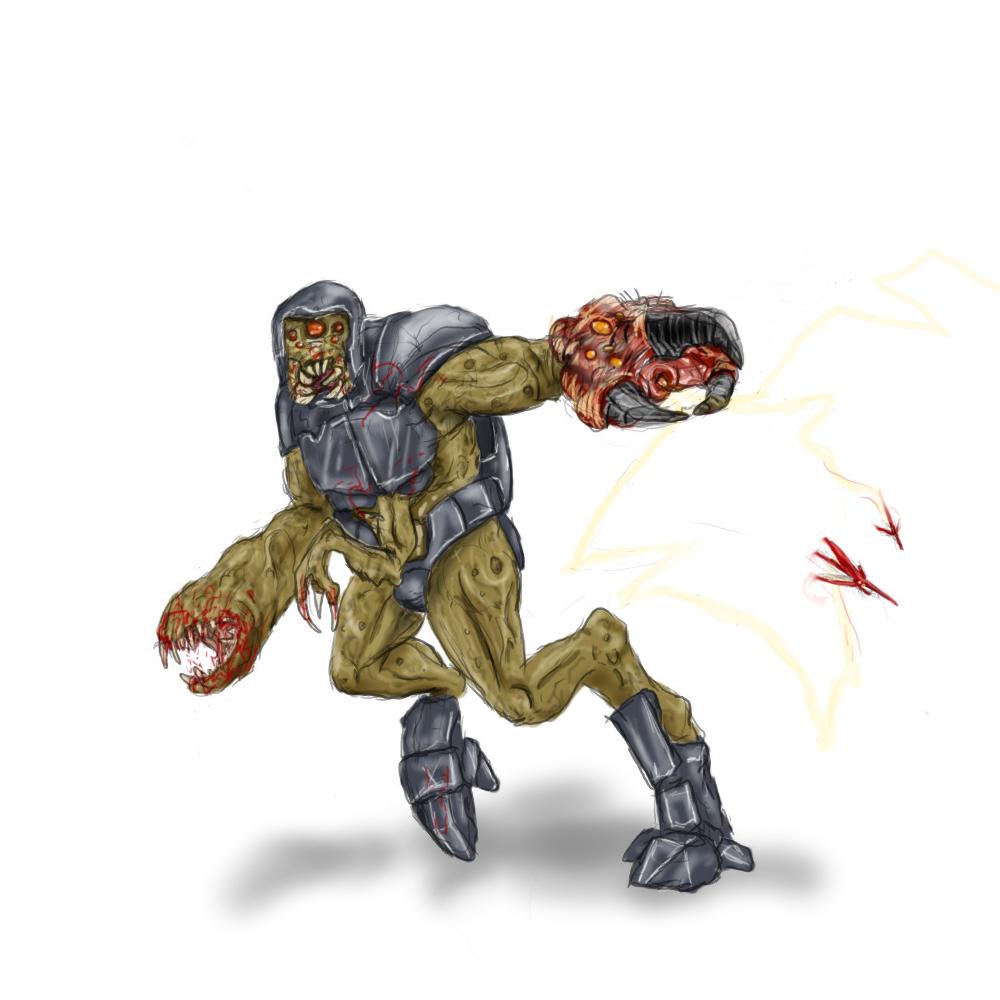 Alien Grunt by Jazon19 on DeviantArt