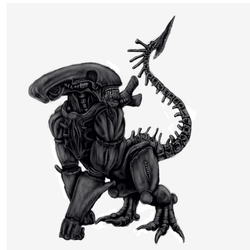 Gorilla Xenomorph by Jazon19