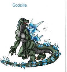 Godzilla Remake by Jazon19
